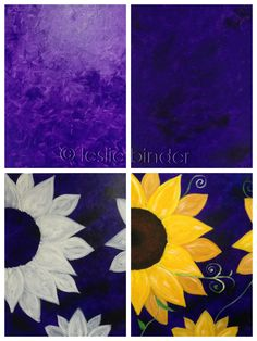 DIY Flower Projects – There is nothing quite like fresh flower arrangements for the house decoration. Read MoreBest DIY Flower Projects with Simple Tools and Materials Diy Painting, Painting & Drawing, Purple Painting, Diy Canvas, Canvas Art, Canvas Paintings, Sunflower Canvas, Wine And Canvas, Learn To Paint
