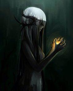 Pin by juniper ☣ mangle on fantasy love Fantasy Demon, Fantasy Love, Fantasy Girl, Dark Fantasy, Anime Demon, Anime Manga, Albino Girl, Deviantart Fantasy, Demon Drawings