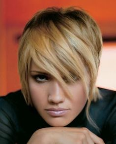 Modern Asymmetrical Haircut