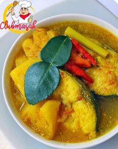 Ikan Bumbu Kuning, Club Masak Cooking Chef, Cooking Recipes, Sambal Recipe, Classic Beef Stew, Beef And Potato Stew, Ocean Food, Malay Food, Beef Soup Recipes, Crock Pot Food