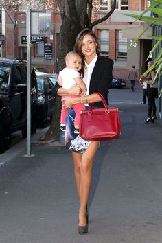 Miranda Kerr & Flynn Bloom's Best Street Style Moments - HarpersBAZAAR.com