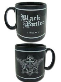 Anime coffee mug Black Butler