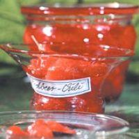 Erdbeerkonfitüre und Erdbeer-Chilikonfitüre für Diabetiker