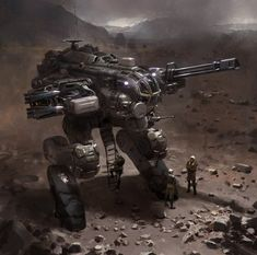 Mech w Missiles, John Liberto on ArtStation at http://www.artstation.com/artwork/mech-w-missiles