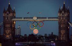 London Olympics moon #teamGB