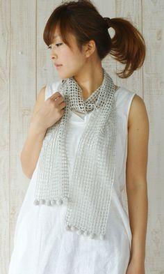 Crochet lacy shawl. Free pattern - diagram/Japanese.  http://www.gosyo.co.jp/img/acrobat/211ss/641-s.pdf