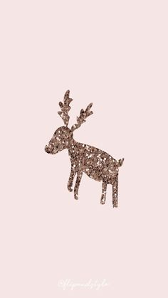 Christmas wallpaper – pink with a glittered reindeer ⛄ ? Christmas wallpaper for mobile IPhone and Android - Backgrounds Free Wallpaper Backgrounds, Cute Backgrounds, Trendy Wallpaper, Cool Wallpaper, Cute Wallpapers, Iphone Wallpapers, Cute Christmas Backgrounds, Wallpaper Ideas, Winter Backgrounds