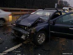 Renault Laguna avariat de vanzare -crash