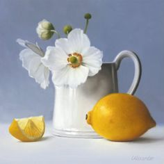 Still Life with Anemones - Giclee print