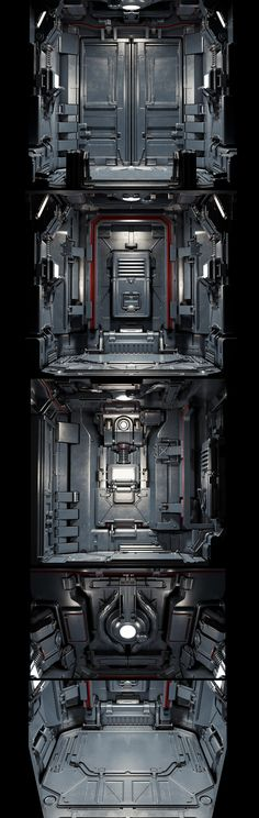 Doom elevator redesign on Behance
