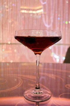 When in Vegas, a cocktail from The Chandelier is always in order. #VegasDrinks