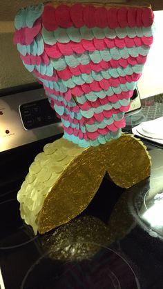 Mermaid Tail Piñata