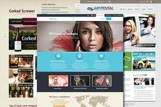 13 Amazing and Free Website Templates « gfxBlog gfxBlog