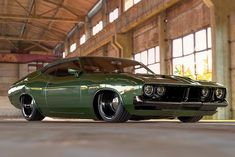 This Vicious Looking 1973 Ford Falcon XB Is One Head-Turning Restomod Australian Muscle Cars, Aussie Muscle Cars, American Muscle Cars, Ford Falcon, Ford Classic Cars, Custom Cars, Custom Muscle Cars, Hot Cars, Car Pictures