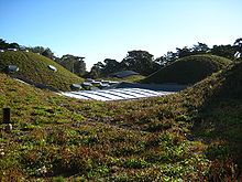 The Living Roof of the California Academy of Sciences, a museum and research facility in San Francisco, California. Renzo Piano.