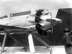 """""""Some Schneider cool. Think it could be the Gloster."""" KB Schneider Trophy Plane by amphalon, via Flickr"""