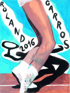 Marc Desgrandchamps is the author of the official poster of Roland Garros this year. He will have a solo show at Galerie Lelong in November. Wimbledon, Poster On, Poster Prints, Paris, Davis Cup, Avant Garde Artists, Most Famous Artists, Open Signs, Sports