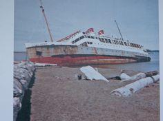 Catala aground at Damon Point