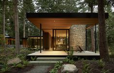 Architecture Design, Minimalist Architecture, Agricultural Buildings, Modernisme, Whidbey Island, New Homes, Villa, House Styles, Washington State