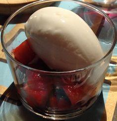 Llega la parte dulce: Merengue de Fresas
