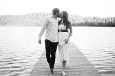 If not a wedding at Sandy Island, maybe engagement photos there?