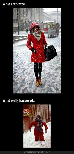 Wearing Winter Clothes | Expectation Vs Reality
