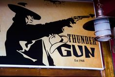 It's got the best meat in town and a vibe that is completely unique, in a deeply old school kind of way. It's the Thundergun.