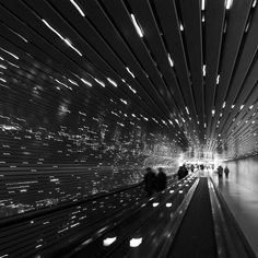 """Into the Multiverse by ~aponom  Photography / Architecture / Interior  This is a """"light sculpture"""" called """"Multiverse"""" by American artist Leo Villareal, which was installed recently in the concourse between East and West wings of the National Gallery of Art in Washington DC. It contains thousands of LED lights controlled by a computer."""