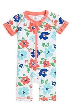 Tucker + Tate Rashguard Coveralls (Baby Girls) available at #Nordstrom