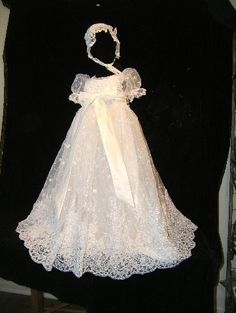 Angela West Christening gown set Delilah IV by angelawesthgowns, $298.00