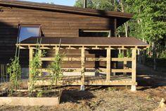 木組みの薪小屋 – yomogiya