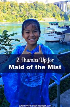 """Maid of the Mist -- a """"must see"""" at Niagara Falls, New York. #travel"""