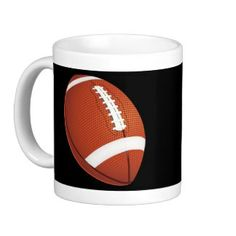 Football Mug Create Your Own Mug, Wedding Mugs, Personalized Mugs, Custom Mugs, Photo Mugs, Football, Tableware, Soccer, Personalized Cups