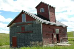 not a barn - maybe for grain