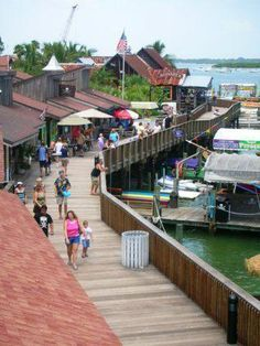 John's Pass, Madeira Beach, Florida this is my area!!! love this place!! Always a flurry of activity and fun!