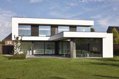 Modern Architecture House, Architecture Design, Modern Villa Design, Home Building Design, Facade Design, Modern House Plans, House Goals, Minimalist Home, Future House