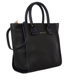 Black April Contrast Leather Tote Bag, See by Chloe. Shop the latest designer bags from the See by Chloé collection online at Liberty.co.uk