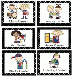 22 Best Learning Center Signs and Ideas images   Classroom setup ...