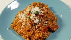 Discover recipes, home ideas, style inspiration and other ideas to try. Appetizer Recipes, Appetizers, Tomato Risotto, Risotto Recipes, Tomato Basil, How To Slim Down, Kitchen Recipes, The Fresh, Grain Free