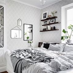 No shame in the staying in bed all Sunday game! / via @interiormilk