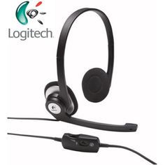 @ShopAndThinkBig.com - The Logitech Clearchat Stereo Headset Is A Basic Headset That Lets You Chat In Comfort And Style. Enjoy Clear Talk And The Convenience Of A Noise-Cancling Microphone That Helps Keep Your Voice Clear - And Rotates Away When You Want To Listen To Music Or Watch A Movie. It?s An Easy Task To Change The Volume Or Even Mute The Mic With The Headset's In-Line Controls. These Features Make The Logitech Clearchat Stereo Headset A Great Choice For Vidoe And Voice Chat, Pc…