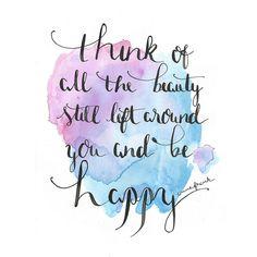 ... Be happy | by Sabine Fischer