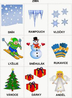 Pro Štípu: Období PODZIM Christmas Activities For Toddlers, Preschool Activities, Crafts For Kids, Weather For Kids, Learning English For Kids, Toddler Christmas, Home Schooling, Adult Coloring Pages, Winter Time
