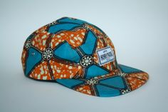African printed caps by Henry Rude. hhtp://henryrude.com