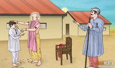 શ્રીહરિએ બાળમુક્તને પોતાના કેશ આપી રાજી કર્યો   Prasang   anadimukta.org