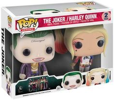 The Joker / Harley Quinn Vinyl Figure - Funko Pop! van Suicide Squad