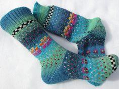 Bunte Socken agua Gr. 35/36