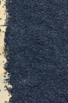 Imagen aérea: neumáticos usados.