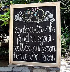 Cute idea for cocktails before wedding Before Wedding, Wedding Tips, Diy Wedding, Wedding Events, Wedding Ceremony, Wedding Planning, Dream Wedding, Wedding Day, Outdoor Ceremony
