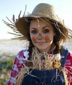 suggestion très sympa pour votre déguisement halloween facile, épouvantail, idée inspirée du conte Alice au pays des merveilles